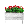 Raised Garden Bed Plant Holder Kit With Adjustable Galvanized Iron For Growing Flowers, Vegetables, Herbs by Pure Garden 14.25