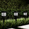 Solar Pathway Coach Lights- 15? Water Resistant Outdoor Stake Lighting for Garden, Landscape, Yard, Patio, Driveway, Walkway- Set of 6 by Pure Garden