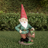 Lawn Gnome Statue-Fun Classic Style Resin Figurine for Outdoor Garden D�cor-Great for Flower Beds, Fairy Gardens, Backyards and More by Pure Garden