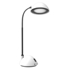 Desk Lamp Adjustable Gooseneck for Reading, Crafts, Writing- Modern Design Light for Bedroom, Home, Office, and Dorm by Lavish Home, White