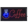 Coffee LED Sign- Lighted Neon Electric Display Sign With Animation and Energy Efficient LED For Home, Business, Special Events by Lavish Home