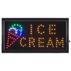 Ice Cream LED Sign- Lighted Neon Electric Display Sign With Animation and Energy Efficient LED For Home, Business, Special Events by Lavish Home