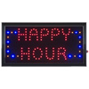 Happy Hour LED Sign- Lighted Neon Electric Display Sign With Animation and Energy Efficient LED For Home, Business, Special Events by Lavish Home
