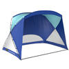 Beach Tent / Sun Shelter for Shade with UV Protection and Water Resistant Coating for Sports Events and More with Carry Bag By Wakeman Outdoors (Blue)