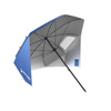 Umbrella Sun Shelter- Portable Canopy for Shade with UV Protection and Water Resistant for Beach, Sports Events and More By Wakeman Outdoors (Blue)