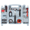 Tool Kit - 124 Heat-Treated Pieces with Carrying Case - Essential Steel Hand Tool and Basic Repair Set for Apartments, Dorm, Homeowners by Stalwart