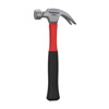Fiberglass Claw Hammer With Comfort Grip Handle And Curved Rip Claw, 16 Oz By Stalwart (Durable Tool for Home Repair, DIY, Building, Woodwork) (Red)
