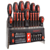 39 Piece Screwdriver and Bit Set with Magnetic Tips- Precision Kit Including Screwdrivers, Bits, Power Nut Drivers and Storage Rack By Stalwart