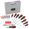 Screwdriver Set ? 42 Piece SAE and Metric Heat Treated Hand Tool Kit with Carrying Case and Magnetized Tips for Home, Garage or Workshop by Stalwart