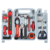 Tool Kit - 131 Heat-Treated Pieces with Carrying Case - Essential Steel Hand Tool and Basic Repair Set for Apartments, Dorm, Homeowners by Stalwart