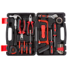 Tool Kit - 23 Heat-Treated Pieces with Carrying Case - Essential Steel Hand Tool and Basic Repair Set for Apartments, Dorm, Homeowners by Stalwart