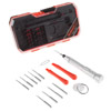 Electronic Repair Tech Tool Kit-15 Piece Set with Precision Screwdriver, Bits, Suction Cup and More For Repairing Cell Phone/Tablet/Laptop By Stalwart