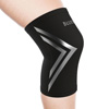 Copper Infused Knee Support Compression Sleeve- Unisex Knee Compress for Pain Relief, Soreness, Swelling, Recovery by Bluestone (Large)