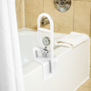 Bathtub Safety Bar ? Heavy Duty Bathroom Stabilizer Grab Rail ? Mobility and Support Assistance with Adjustable Clamp and Rubber Grips by Bluestone