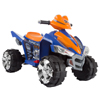 Ride On Toy Quad, Battery Powered Ride On Toy ATV Four Wheeler With Sound Effects by Lil? Rider ? for Boys and Girls, 2 - 5 Year Olds (Purple/Orange)
