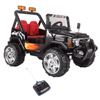 Ride On Toy All Terrain Vehicle, 12V Battery Powered Sporty Truck With Lights, Sounds, MP3 & Remote Control- For Boys and Girls by Lil? Rider (Black)