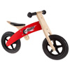 Wooden Balance Bike Ride On with Easy Grip Handles, Rubber Wheels and No Pedals to Learn Balance and Coordination- For Boys and Girls by Lil? Rider