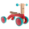 Walk and Ride Wooden Balance Bike for 18M+ - Ride, Push, or Pull Toy- Perfect for Boys and Girls by Happy Trails