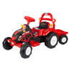 Ride On Toy Tractor and Trailer, Battery Powered Ride On Toy by Lil? Rider ? Ride On Toys for Boys and Girls, For 3 ? 7 Year Olds (Red and Yellow)
