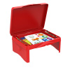 Lap Desk for Kids-Folding Collapsible Portable Table with Storage for Paper, Pencils, Books-Kids Activity Tray for Writing, Crafts, Art by Hey! Play!