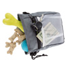 Dog Treat Bag- 4-Way Wear Pouch with Drawstring Closure for Training or Walking- Holds Treats, Cell, Keys, Bags, Pet Toys and Supplies by Petmaker