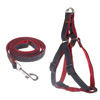 Dog Harness and Leash Set-Size Large Chest Girth for Dogs 22-55lbs- Strong, Durable, and Adjustable for Comfortable Control While Walking by Petmaker