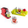 Coffee Maker Toy Set- Pretend Kitchen Appliance for Play Espresso or Cappuccino Coffee Shop, Single Serve Brewer for Boys and Girls by Hey! Play!