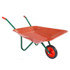 Kids Wheelbarrow Garden Tool-Mini Toy Wheelbarrow for Boys and Girls- For Pretend Play Yardwork, Hauling Sand, Water, Sticks and More by Hey! Play!