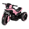 Ride-On Toy Trike Motorcycle ?Battery Operated Electric Tricycle for Toddlers with Built-in Sound, Lights and MP3 Input by Lil' Rider (Pink)