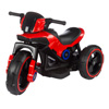 Ride-On Toy Trike Motorcycle ?Battery Operated Electric Tricycle for Toddlers with Built-in Sound, Lights and MP3 Input by Lil' Rider (Red)