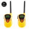 Kids Walkie Talkie Set - 2-Pack Indoor Outdoor Toy - Battery Operated, Works Up To 130 Ft - Great for Fun Pretend Play by Hey! Play!
