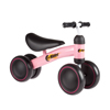 Ride On Mini Trike with Easy Grip Handles, Enclosed Wheels and No Pedals for Learning to Walk for Baby, Toddlers, Boys and Girls by Lil? Rider (Pink)