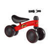 Ride On Mini Trike with Easy Grip Handles, Enclosed Wheels and No Pedals for Learning to Walk for Baby, Toddlers, Boys and Girls by Lil? Rider (Red)