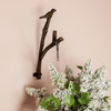 Decorative Bird on Tree Branch Hook-Cast Iron Shabby Chic Rustic Wall Mount Hooks for Coats, Towels, Hats, Scarves, Jewelry, and More by Lavish Home