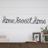 Metal Cutout- Home Sweet Home Cursive Cutout Sign-3D Word Art Home Accent D�cor-Perfect for Modern Rustic or Vintage Farmhouse Style by Lavish Home