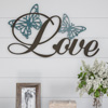 Metal Cutout- Love Decorative Wall Sign-3D Word Art Home Accent D�cor-Perfect for Modern Rustic or Vintage Farmhouse Style by Lavish Home