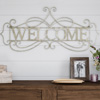 Metal Cutout- Welcome Decorative Wall Sign-3D Word Art Home Accent D�cor-Perfect for Modern Rustic or Vintage Farmhouse Style by Lavish Home