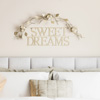 Metal Cutout- Sweet Dreams Decorative Wall Sign-3D Word Art Home Accent D�cor-Modern Rustic or Vintage Farmhouse Style by Lavish Home