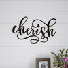 Metal Cutout- Cherish Decorative Wall Sign-3D Word Art Home Accent D�cor-Perfect for Modern Rustic or Vintage Farmhouse Style by Lavish Home