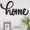 Metal Cutout- Home Decorative Wall Sign-3D Word Art Home Accent D�cor-Perfect for Modern Rustic or Vintage Farmhouse Style by Lavish Home