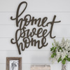 Metal Cutout- Home Sweet Home Decorative Wall Sign-3D Word Art Home Accent D�cor-Perfect for Modern Rustic or Vintage Farmhouse Style by Lavish Home