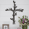 Metal Wall Cross with Decorative Intertwined Vine Design- Rustic Handcrafted Religious Art for D�cor in Living Room, Bedroom, More by Lavish Home