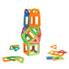 Magnetic Tile Toy-40 PC. Building Magnet Block Toy Set for STEM Learning, Shapes, Sorting-Creative Play for Toddlers and Preschoolers by Hey! Play!