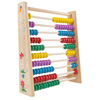 Wooden Abacus-Classic and Colorful Children?s Math and Counting Toy with Free-Standing Frame and 100 Beads-Learning and Educational Toy by Hey! Play!