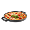Cast Iron Pizza Pan-13.25? Pre-Seasoned Skillet for Cooking, Baking, Grilling-Durable, Long Lasting, Even-Heating Kitchen Cookware by Classic Cuisine