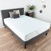 Gel Infused Memory Foam Mattress Topper- 2 Inch Queen Size Memory Foam Mattress Pad with Ventilation for Support, Cooling, and Comfort by Bluestone