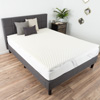 Egg Crate Memory Foam Mattress Topper- 2 Inch Twin Mattress Pad with Ventilation for Comfort, Support and Pressure Point Relief by Bluestone