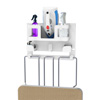 Ironing Board Organizer-Wall Mount Laundry Room Supplies Holder for Iron, Board, Spray Bottles, Starch and More-Space Saving Essential by Lavish Home