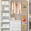 Hanging Shoe Organizer- 10 Shelf Vertical Closet Storage for Heels, Flats, Sneakers-Space Saving for Small Homes, Apartments, or Dorms by Lavish Home