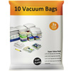 Vacuum Storage Bags-Space Saving Air Tight Compression-Shrink Down Closet Clutter, Store and Organize Clothes, Linens, Seasonal Items by Everyday Home